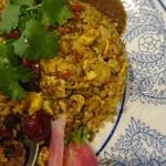 中華料理 八戒 - カレー炒飯、四川麻婆