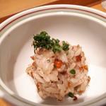 志げる - せいこ蟹の蒸し寿司