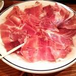 スペインバル ミロ - 料理写真:生ハム盛り合わせ