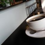 カフェハックベリー - セットのコーヒーです。