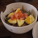 燻製キッチン - 2011/09 ベーコンと卵の燻製丼