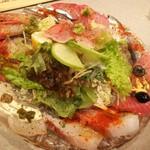 97650786 - 地金目入り鮮魚のカルパッチョ