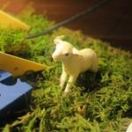 ワイン×チーズ料理専門店 チーズチーズカフェ - 可愛い山羊がいた「メェェェ~!」