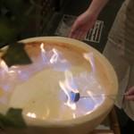 ワイン×チーズ料理専門店 チーズチーズカフェ - 青い炎がヴォワ~!→