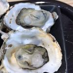 名代茶屋 永吉 - 焼き牡蠣