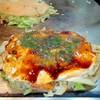広島風お好み焼 安芸 - 料理写真:キャベツ大盛り生イカ広島焼(そば抜き) ¥800