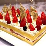 ブラスリーミリー ラ・フォーレ - 特Aはるみ粉を使用した季節のショートケーキ