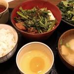 97654077 - 鶏すきやき定食