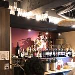 炭火焼き鳥とワインのお店 Gallo - お茶と生卵はセルフサービス