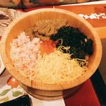 八幡太郎本店 - かにみそご飯