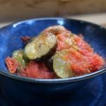 家庭料理 小川 - 鶏とまと煮こみ