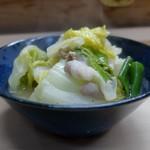 家庭料理 小川 - 豚バラ白菜煮