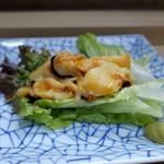 家庭料理 小川 - ホヤの造り