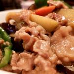 菜来軒 - 料理写真:茄子味噌丼