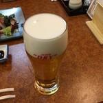 磯浜 - 生ビール
