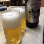 力餅食堂 - 瓶ビール750円!