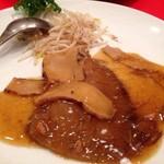 恵比須軒 - 松茸とフカヒレの姿煮込み