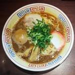 まっち棒 - 料理写真:中華そば+半熟味付玉子