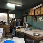 三嶋製麺所 - 店内(厨房)