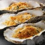 牡蠣の香草パン粉焼き(1pc)