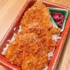竹の家 - 料理写真:竹の家のかつ重(ソースカツ重)  850円