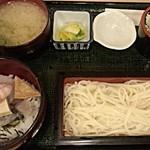 日本酒スローフード とやま方舟 -  海鮮丼・うどんセット