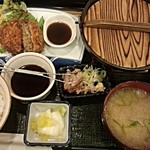 日本酒スローフード とやま方舟 - 湯豆腐・氷見牛コロッケ定食