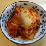 ラーメン壷 - キムチ