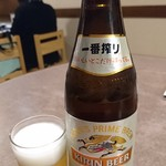 うなぎの末よし - 瓶ビール