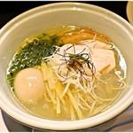 らーめん三極志 - 料理写真:特製塩らーめん  1100円 貝の旨味たっぷり♪