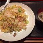 栄盛 - レタス入り炒飯