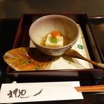 新日本料理 神也 - 自然薯豆腐