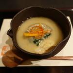 新日本料理 神也 - 大根、鮭、かすに