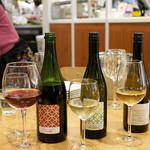 チャヤ ナチュラル&ワイルドテーブル - 清澄白河のワイナリー、フジマル醸造所のワイン各種