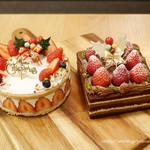 チャヤ ナチュラル&ワイルドテーブル - クリスマスケーキ