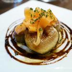 ビストロ オレイユ - 前菜2皿目 フォアグラのソテー