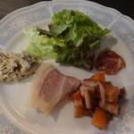 パナチェーア - 前菜盛り合わせ4種