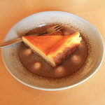 常々 - 料理写真:ベイクドチーズケーキ