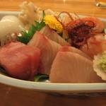 割烹 魚仙 - お造り盛合せ
