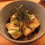 割烹 魚仙 - 揚げ出し豆腐 500円 (2018.11)