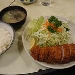 97667736 - ヒレかつ定食