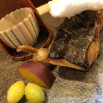 97668277 - サワラの西京焼き。