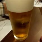 立飲み 貫太郎 - ドリンク写真:先ずは生ビール(^^♪