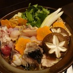海鮮和食 行楽庵 - 肝付あんこう鍋(1人前)1,290円