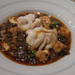 ginzayamanobeedochuuka - 30年12月 鱈白子麻婆豆腐
