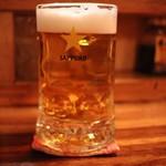 97671642 - ビールで乾杯♪