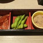 北海道はでっかい道 オホーツクの恵み 湧別町 - 珍味三種盛り合わせ