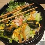 北海道はでっかい道 オホーツクの恵み 湧別町 - 海鮮サラダ