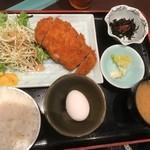 宗平 - ロースかつ定食