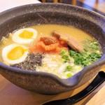 新麺 鯛出汁らーめん めで鯛 - 料理写真:濃厚鯛骨めんたいラーメン
